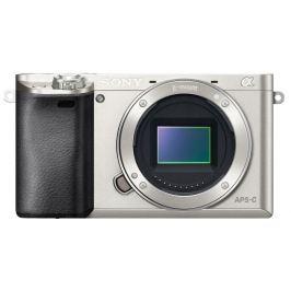 Sony A6000, jen tělo, 24,3Mpix, stříbrný