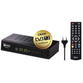 EMOS Set top box  EM180 HEVC H265 (DVB-T2 přijímač)