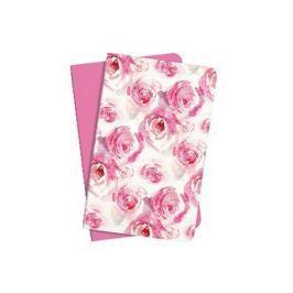 SIGEL Sešit Jolie, růžová/růže, A6, linkovaný, 32 listů,