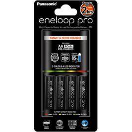 PANASONIC-ENELOOP Panasonic BQ-CC55 Smart & Quick Charger + Eneloop Pro R6/AA 2500mAh, 4 ks