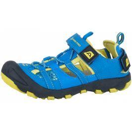 Alpine Pro Dětské sandály  BILPIN, 34, šedo-žlutá