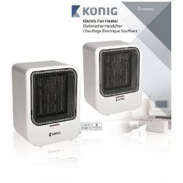 König KN-FH10 - Elektrický ventilátorový ohřívač s výkonem 1500W a ochranou prot
