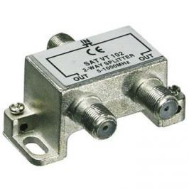 CABLE PremiumCord antenní rozbočovač na F konektory 1-2 výstupy 5-1000 MHz