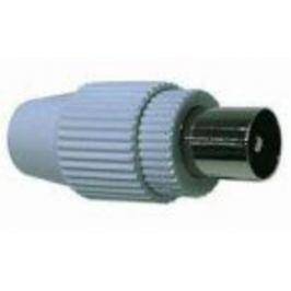 CABLE KONEKTOR anténní TV, IEC přímý-M, 75 Ohm