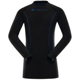 Alpine Pro Dětské triko  KRIOSO 2, L, černá - PB