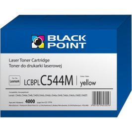 Black Point Toner  LCBPLC544Y   yellow   4000 pp   Lexmark   C544X1YG