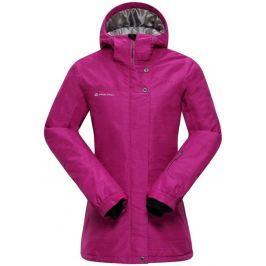 Alpine Pro Dámská zimní bunda  SILEDEA 3, L, Růžová