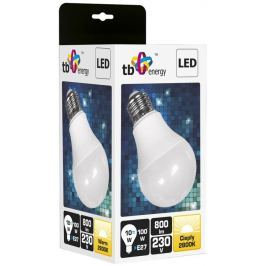 TB ENERGY LED žárovka  E27,230V,10W,Teplá bílá