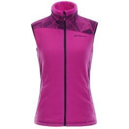 Alpine Pro Dámská vesta  ELENA 4, XL, Růžová