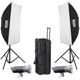 Metz MECASTUDIO TL-600 SB/UM-kit ll, set studiových zábleskových světel TL-600