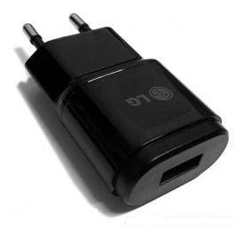 LG USB Cestovní Dobíječ MCS-04ER  Black (Bulk)