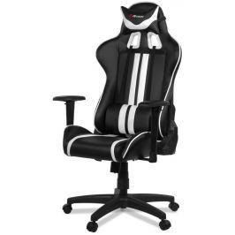 AROZZI herní židle MEZZO/ černobílá