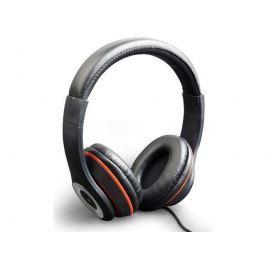 GEMBIRD stereo sluchátka s mikrofonem Los Angeles s ovládáním hlasitosti, černé