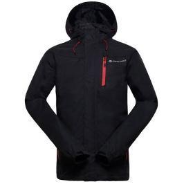 Alpine Pro Pánská jarní bunda  WINTON, M, Černá