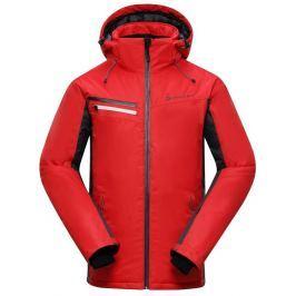Alpine Pro Pánská lyžařská bunda  BAUDOUIN, XL, Červená