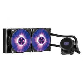 COOLER MASTER vodní chladič MasterLiquid ML240L RGB, univ. socket, 240mm PWM fan
