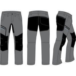 Alpine Pro Pánské softshellové kalhoty  SAMBAR 2, 44, Šedá