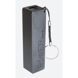 MANTA MPB001B Power Bank 2800mAh, externí cestovní baterie (černá), 1xUSB