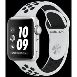 6644440f4 Apple Watch Nike+ 38mm stříbrný hliník s platinovým/černým Nike sportovním  řemín