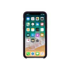 Apple iPhone X Leather Case - Dark Aubergine, iPhone X Leather Case - Dark Aubergine