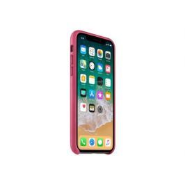 Apple iPhone X Leather Case - Pink Fuchsia, iPhone X Leather Case - Pink Fuchsia