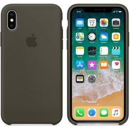 Apple iPhone X Silicone Case - Dark Olive