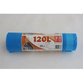 ALUFIX Pytle na odpadky, zatahovací, 120 l, 10 ks,