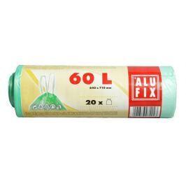 ALUFIX Pytle na odpadky, zatahovací, 60 l, 20 ks,
