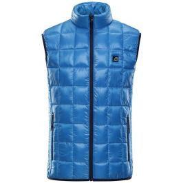 Alpine Pro Pánská vesta  LUSSIER 2, L, Modrá