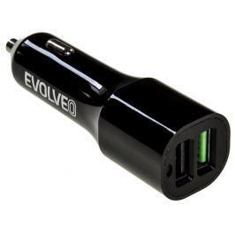 Evolveo MX310, 2x USB port, QUALCOMM QUICK CHARGE 3.0 , nabíječka do auta
