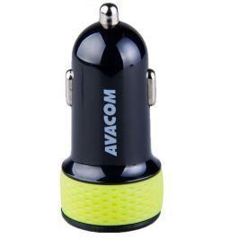 AVACOM Nabíječka do auta  NACL-2XKG-31A s dvěma USB výstupy 5V/1A - 3,1A, černo-z