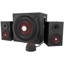 NATEC Genesis HELIUM 600 computer speakers 2.1, 60W RMS (wired remote control)