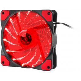 NATEC Ventilátor Genesis Hydrion 120, červené LED, 120mm