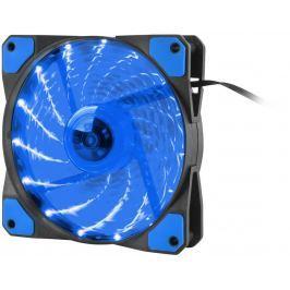 NATEC Ventilátor Genesis Hydrion 120, modré LED, 120mm