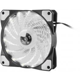 NATEC Ventilátor Genesis Hydrion 120, bíle LED, 120mm