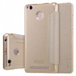 Nillkin Sparkle leather case Xiaomi Redmi 3 Pro Gold