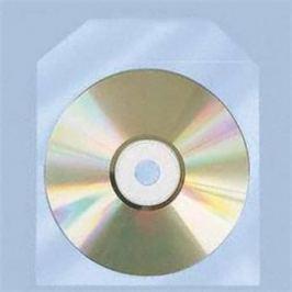 COVER IT Obal obálka na CD/DVD, PVC, čirá, 100ks
