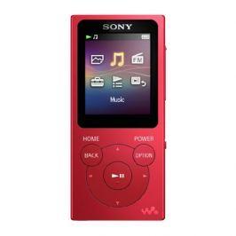 Sony Přehrávač MP3  NW-E393R 4GB, červený