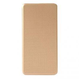 Xiaomi NYE5625TY Original Perforated flipové pouzdro Gold pro Redmi Note 4 Globa