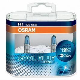 OSRAM Halogenová žárovka Cool Blue Intense, H1, 55W, 12V, 1ks,