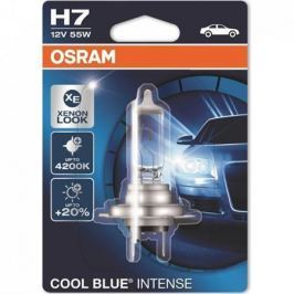 OSRAM Halogenová žárovka Cool Blue Intense, H7, 55W, 12V, 1ks, blister,