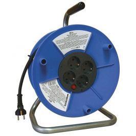 EMOS PVC prodlužovací kabel na bubnu - 4 zásuvky 25m SCHUKO 2,5mm