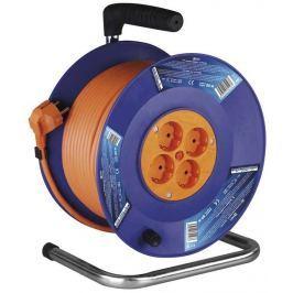 EMOS PVC prodlužovací kabel na bubnu - 4 zásuvky 50m SCHUKO