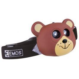 EMOS LED čelovka - medvěd