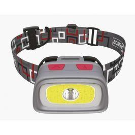 EMOS LED svítilna čelovka E1801, 1x CREE XPG + 1x COB LED + červená zadní LED, 3
