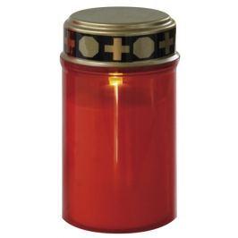 EMOS LED hřbitovní svíčka, na 2x AA, červená LED