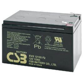 CSB AVACOM  12V 12Ah olověný akumulátor DeepCycle AGM F2 (EVX12120F2)