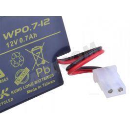 LONG Baterie  12V 0,7Ah olověný akumulátor AMP