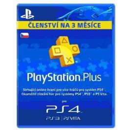 Sony PlayStation Plus Card Hang 90 Days - pouze pro CZ PS Store