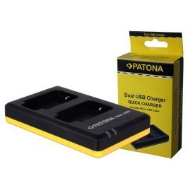 PATONA nabíječka Foto Dual Quick Nikon EN-EL14 USB